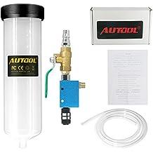 Autool Silencioso neumático aceite y líquido bomba de extractor con ventosa para cambiar Máquina de freno