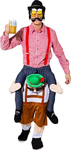r CARRY ME Huckepack trag mich Kostüm Gr.180 bis 195cm Körpergröße ()