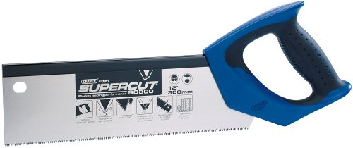 Draper Expert Supercut 49280 300 mm 11 TPI/12 PPI Fine-Cut Soft-Grip Hardpoint Tenon Saw