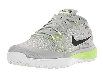 c0708deffd06 ... Nike Men s Lunar Caldra Metallic Silver Blk White VLT Running Shoe 12  Men US