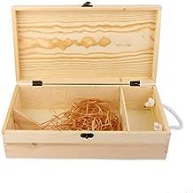caja portadora doble madera para vino botella decoracin regalo