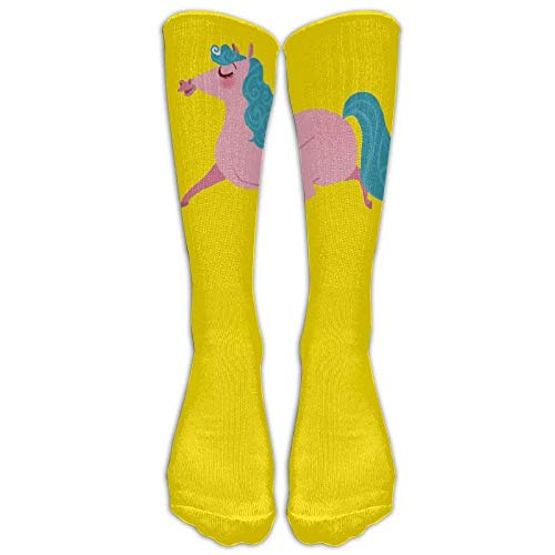 Untitled Women'sHip-hop Unisex Athletic high Knee Long Cotton Stockings Breathable Compression Socks