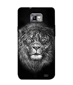 PrintVisa Designer Back Case Cover for Samsung Galaxy S2 I9100 :: Samsung I9100 Galaxy S Ii (Illustration Design Style Symbol White Backcase )