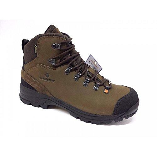 CRISPI Heio Tinde GTX Brown Goretex Cf4280 Scarponi Trekking Scarpe Uomo