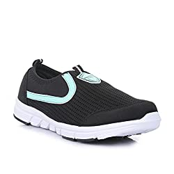 Force 10 (from Liberty) Womens Black Running Shoes - 6.5 UK/India (40 EU)(5814014100400)