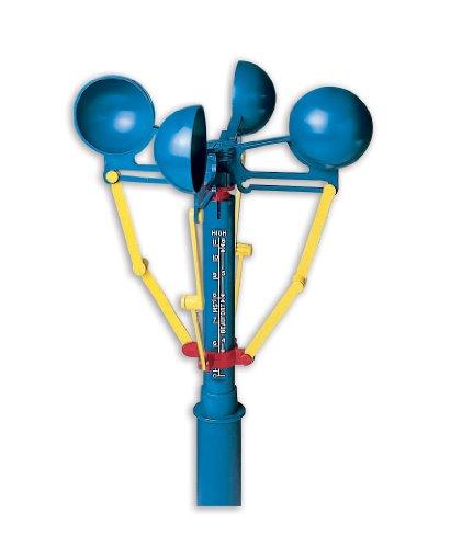 Didax - Anemómetro de viento, de mano o permanentemente fijo