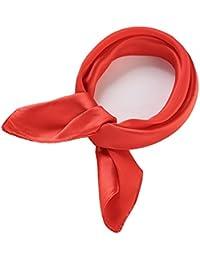 Pañuelo Seda cuadrado 52cm), monocolor