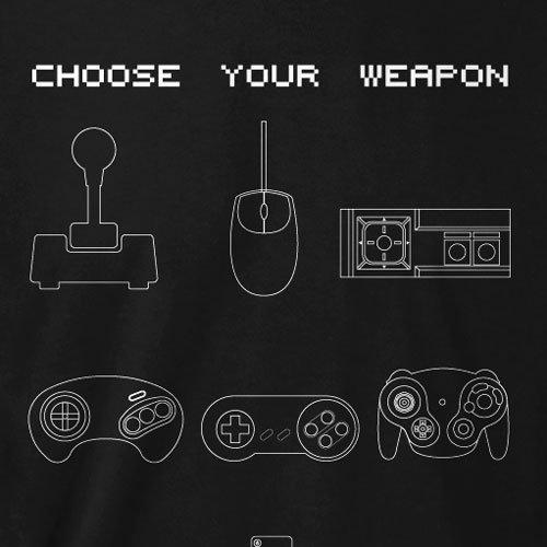 TEXLAB - Choose your Weapon - Damen T-Shirt Braun