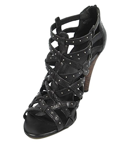 NINE WEST - Sandali Donna Ritagliare NWKENTARO BLACK Tacco: 9 cm Nero