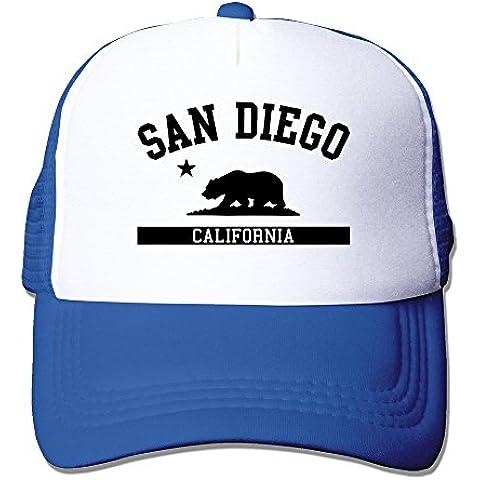 long5zg Unisex ajustable California State bandera gorra Trucker gorro/gorro de invierno Negro