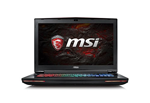 MSI GT72VR-6REAC16H51 43,9 cm (17,3 Zoll) Full HD Notebook (Intel Core i7-6700HQ, 16 GB RAM, 512 GB SSD + 1 TB HDD, NVIDIA GF GTX1070, Windows 10 Home) schwarz GT72