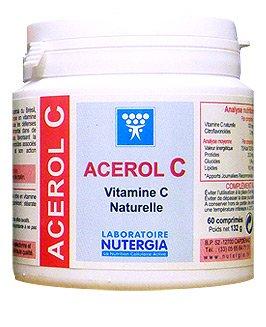 Nutergia Acerol C Vitamine C Naturelle 60 Comprimes
