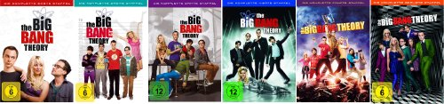 The Big Bang Theory Staffel/Season 1+2+3+4+5+6 * DVD - Big-bang-dvd-staffel 1