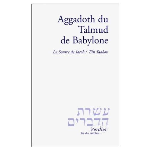 Aggadoth du Talmud de Babylone : La Source de Jacob, 'Ein Yaakov