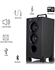 Zinitax Bluetooth Liliput Tower Speakers 15000W PMPO with FM/PenDrive/Sd Card/Mobile/Aux Support