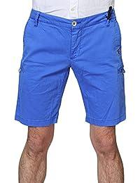 Blauer Hose Herren Hellblau Baumwolle Regular Fit 31
