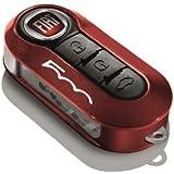 Fiat 500L fundas para llavero metálico rojo y negro, packdoble –P/N 50927026