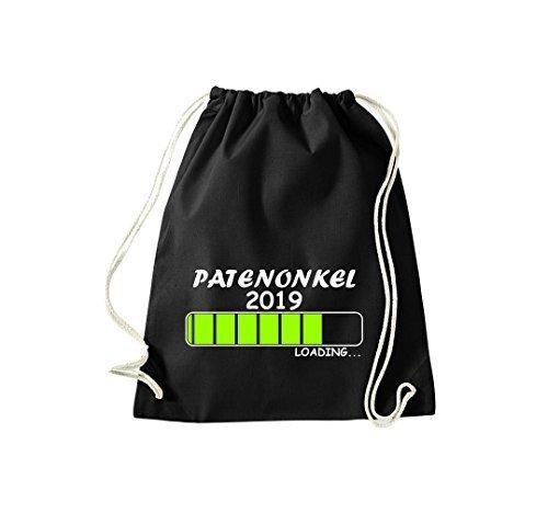ShirtInStyle Gym Sack Turnbeutel Loading PATENONKEL 2019 Schwarz