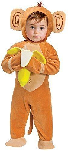Baby Kleinkind Tier Overall Halloween Büchertag Verkleidung Kostüm Kleidung 6 months - 2 years - Affe, 12-24 Monate (Kleinkind Affe Halloween Kostüme)