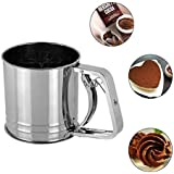 Stainless Steel Flour Sifter/Maida Channi/Sieve - Handheld