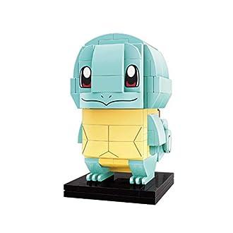 Q-Man Pokemon Squirtle Figure Set (Bricks Building Kit) Anime 3D Model Construction Toy
