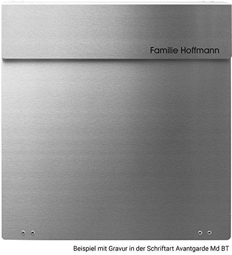 Frabox NAMUR Edelstahl Design Briefkasten - 8