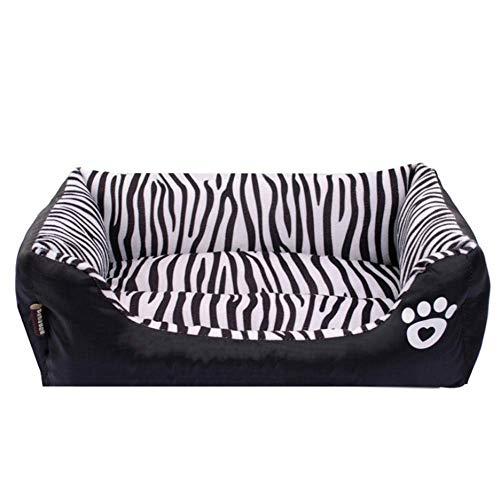 GUANG Zebra Pet Litera Lavable Desmontable Impermeable