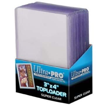 25 Ultra Pro Toploader - Ultra Clear - Regular - Top Loader - 3