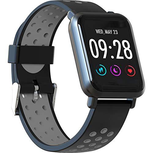 SN60 Mode Camouflage Wristband Multi-Funktions-Sport Step Counting Heart Rate Tracker Information Benachrichtigung Wasserdichtes Smart Bracelet/Für Android IOS Geräte und Software