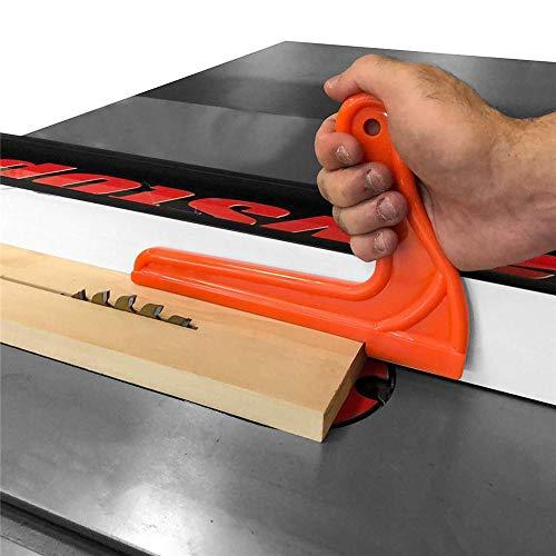 4 piezas de seguridad conjunto de varillas de empuje Protección de las manos para sierra de mesa Sierras de cinta Router Mesa Carpintería Trabajos en madera