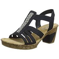 Rieker 69739, dichte sandalen dames 39 EU
