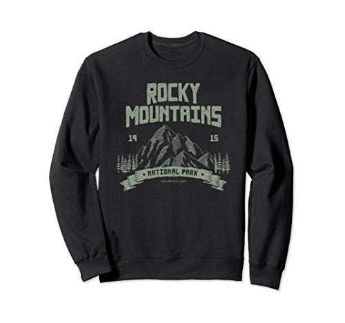 Rocky Mountains National Park Shirt Outdoor Geschenk Sweatshirt -