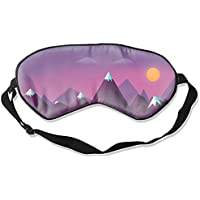 Artistic Mountain Cool Eye Atmungsaktiver Augenschutz Schlafmaske für Männer und Frauen Kinder, Weiß preisvergleich bei billige-tabletten.eu
