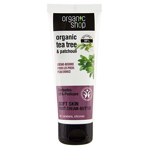 Scheda dettagliata Organic Shop Burro Piedi Nutriente Tea Tree & Patchouli - 75 ml