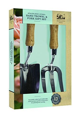 Moulton Mill 95062Hand Kelle und Gabel Geschenk-Set, transparent