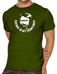 Touchlines Unisex/Herren T-Shirt Chuck Norris is my Homeboy B1740