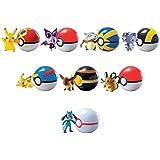 Tomy 21736782 9pieza(s) Multicolor Niño/niña figura de juguete para niños - figuras de juguete para niños (Multicolor, De plástico, Niño/niña, Pokemon, 140 mm, 83 mm)