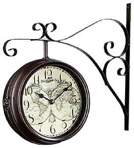 Silea 222/8524 Horloge de Gare Diamètre: 24 cm Métal