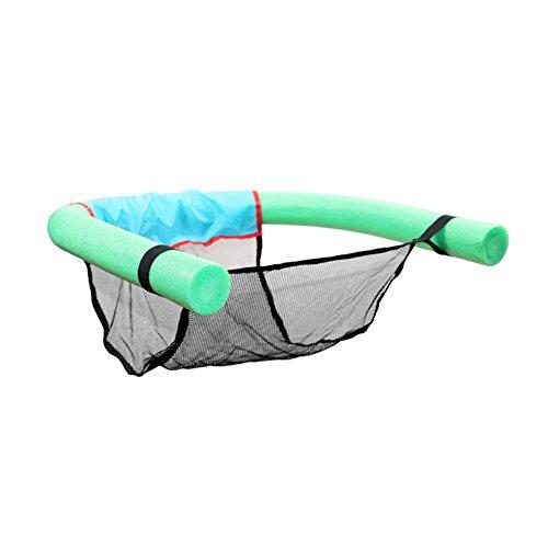 Lzndeal sedia galleggiante nuoto siege piscina in schiuma aiuto ha galleggiamento con schienale e schienale per adulti bambini per vacanze, verde