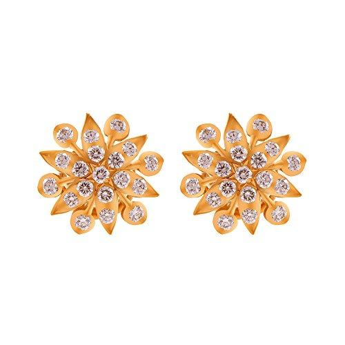 6f00792c66450 Joyalukkas ede015198 22k Yellow Gold And Diamond Stud Earrings ...