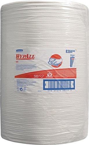 Preisvergleich Produktbild Putztuch Wypall X70-8384 L.380xB.410mm weiß perforiert 500Abrisse