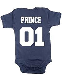 PRINCE 01 ' au dos BODY MARINE pour bébé
