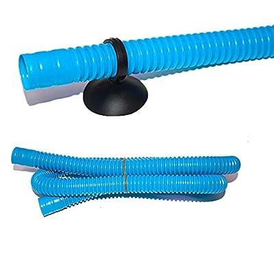 Gwendoll 3 en 1 Pompe Submersible Aquarium Filtration Cycling Kit de système d'oxygénation avec Pompe à air et Base d'aspiration Mute Flux de pulvérisation d'eau