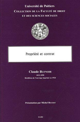 Propriété et contrat