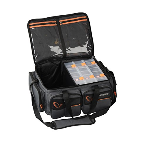 Savage Gear System Box Bag XL 3 Boxen + Waterproof cover