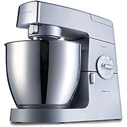 Kenwood 0W20011060 KM631 Major Classic, 900 W, 6.7 liters, Argent