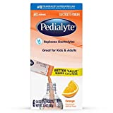 Pedialyte Large Powder Packs, Orange, .6 oz, 6 Count