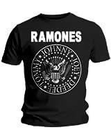 Universal Music Shirts Ramones - Hey Ho Let's Go 0904622 Unisex - Erwachsene Shirts/ T-Shirts (Weitere Farben)