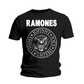 Universal Music Shirts Ramones - Hey Ho Let's Go 0904622 Unisex - Erwachsene Shirts/ T-Shirts, Gr. S, Schwarz (schwarz)