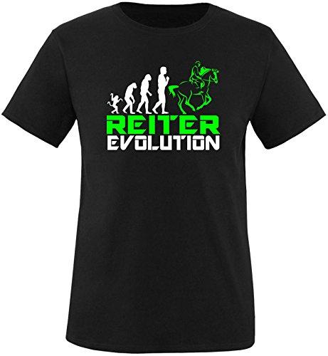 EZYshirt® Reiter Evolution Herren Rundhals T-Shirt